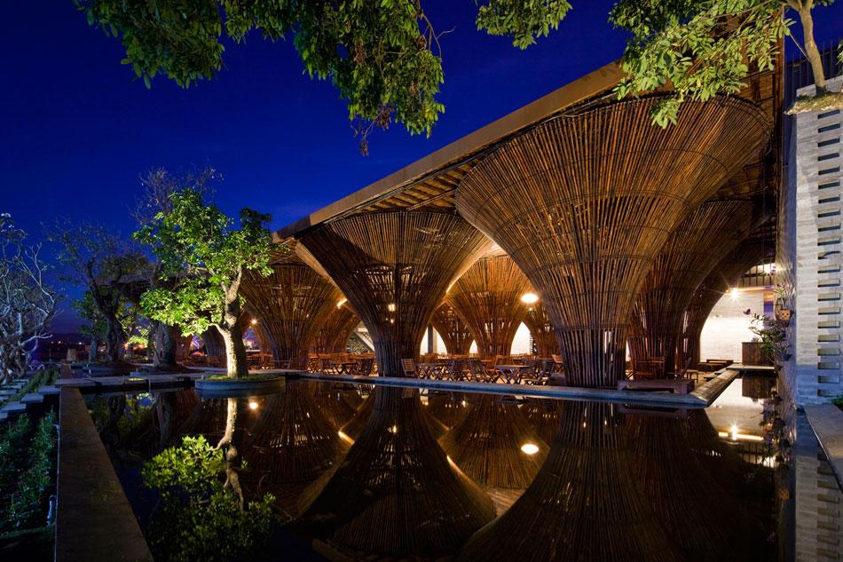 Бамбук + в воде