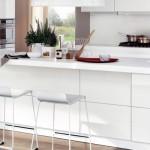 Белая кухня — тренд сезона