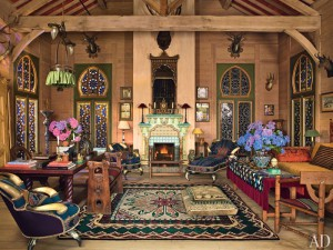 Нормандский сказочный дом Пьера Берже
