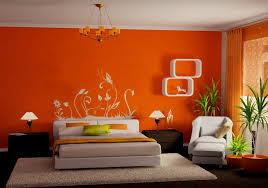 Оранжевая спальня