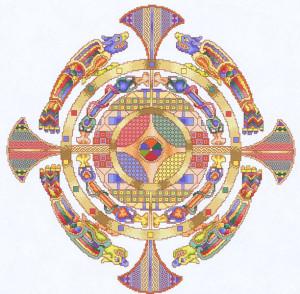 медальон кельтский