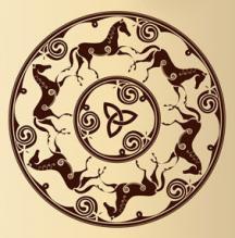 кельтский медальон