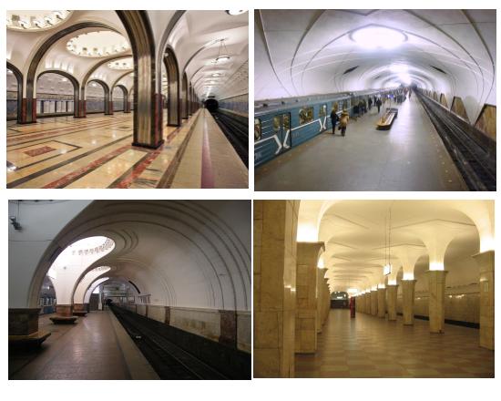 станции метро арт-деко
