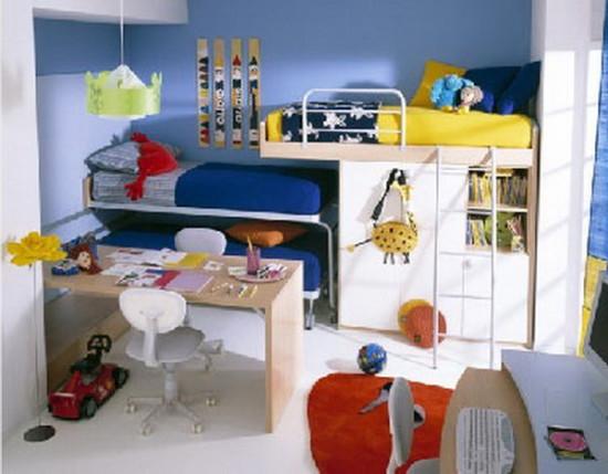 детская комната для девочки и мальчика