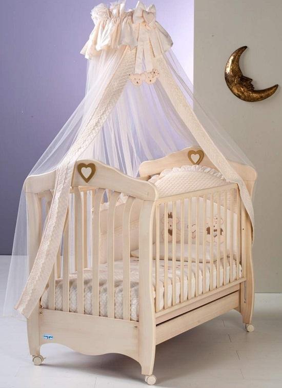Фото балдахина на детскую кроватку 192