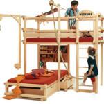 Кровати для детей двухъярусные — весело и компактно