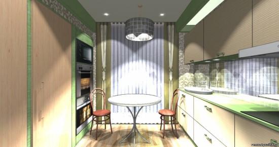 дизайн кухни 12 кв м