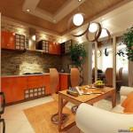 Оранжевая кухня: только позитив и хорошее настроение