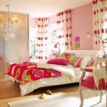 Занавески для спальни придают помещению интимности