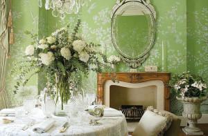 Вечная весна: зеленый цвет в интерьере квартиры