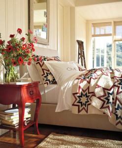 Прикроватные тумбочки в интерьере различных стилей