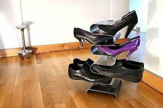 Как сделать этажерку своими для обуви своими руками