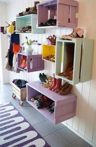 Галошница для обуви — компактная мебель для прихожей