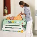 Пеленальный столик — удобная мебель для ухода за малышом