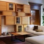 Современные стенки в гостиную — функционально и стильно