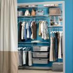 Полноценная гардеробная в маленькой комнате