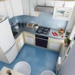Малогабаритные кухни угловые — максимум практичности