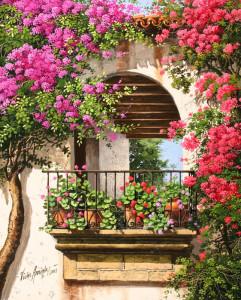 Цветы на балконе — зеленый оазис в мегаполисе