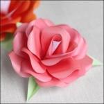 Как из любой бумаги сделать оригинальную розу