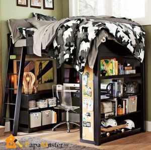 Мебель для подростковой комнаты — особенности и стилистика