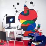 Оригинальные техники нанесения рисунков на стены квартиры