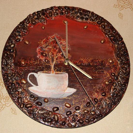 поделки из кофейных зерен