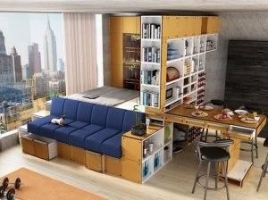 Как правильно разработать дизайн гостиной-спальни