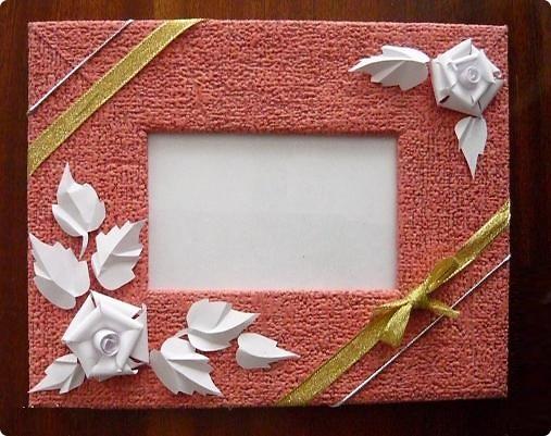 Рамка для фото своими руками из картона