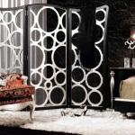 Раздвижные перегородки в комнату — конструкция, виды, дизайн