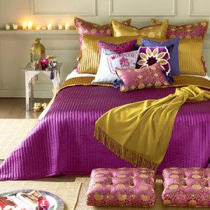 Покрывала на двуспальную кровать — особый акцент в интерьере