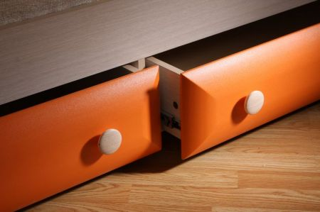 детская кровать с ящиками