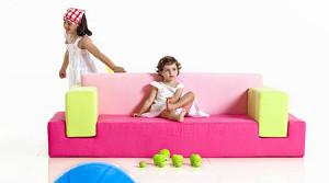 Детские диваны для девочек — мебель для принцесс