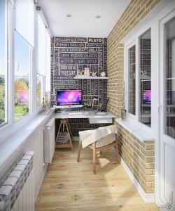 Дизайн балконов и лоджий — еще одна комната