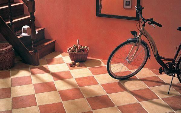 напольная плитка в коридор