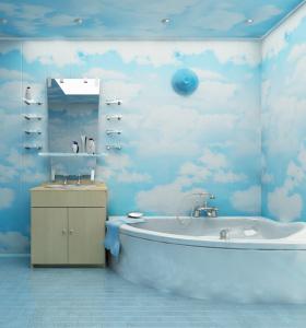 Пластиковые панели для ванной — отличная альтернатива плитке