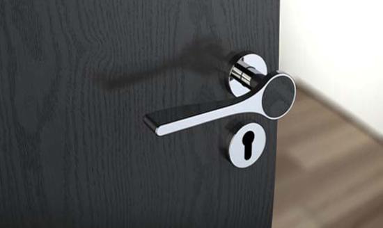 Дверные ручки для межкомнатных дверей - типы и дизайн