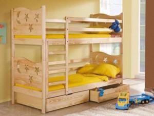 Двухэтажные кровати — типы, особенности, дизайн