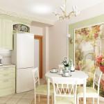 Яркая и насыщенная кухня: современные фотообои