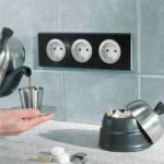 Как правильно расположить розетки на кухне