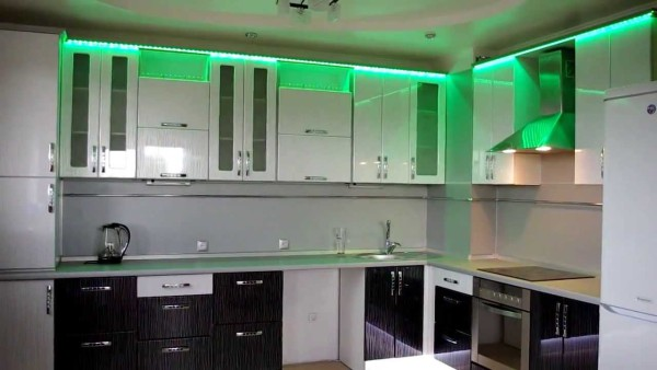 Свет на кухне своими руками