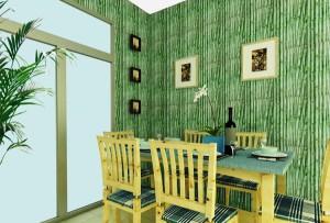 Натурально и стильно: бамбуковые обои в интерьере