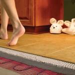 Устройство теплого пола под плитку: варианты и особенности