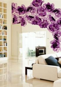 Обои для роскошной гостиной: выбираем цвет, фактуру и материал