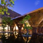 Вьетнамское бамбуковое кафе 'kontum indochine café'