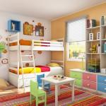Дизайн детской комнаты: подарите малышу сказку
