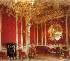 Роскошный стиль барокко в интерьере