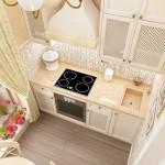 Дизайн кухни 6 кв м: маленькие хитрости