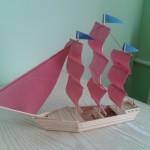 Как сделать кораблик своими руками