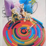 Стильные варианты как сделать коврики своими руками