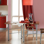 Раскладной стол-книжка — компактно, удобно и практично